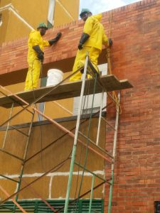 mantenimiento lavado de fachadas